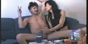 Любительский секс зрелых русских алкашей